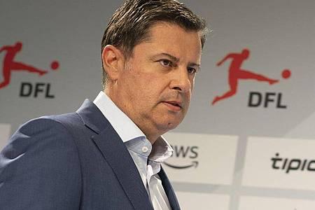 Nach «Bild»-Informationen wird DFL-Chef Seifert seinen am 30.Juni 2022 auslaufenden Vertrag nicht verlängern. Foto: Frank Rumpenhorst/dpa
