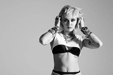 Miley Cyrus hat ihren ganz eigenen Kopf. Foto: Sony Music/dpa