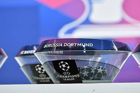 Borussia Dortmund könnte auf den FCBayern München treffen. Foto: Harold Cunningham/UEFA/dpa