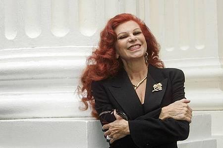 Milva ist tot. Die italienische Sängerin ist mit 81 Jahren gestorben. Foto: Ulrich Perrey/dpa
