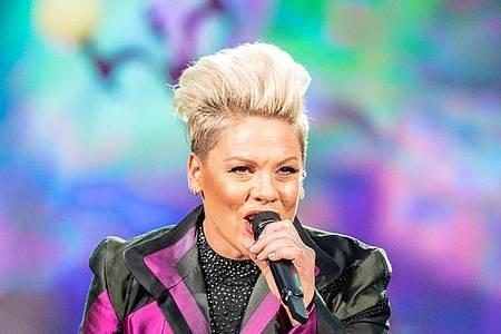 Sängerin Pink veröffentlicht eine neue Single. Foto: Paul Zinken/dpa-Zentralbild/dpa/Archivbild