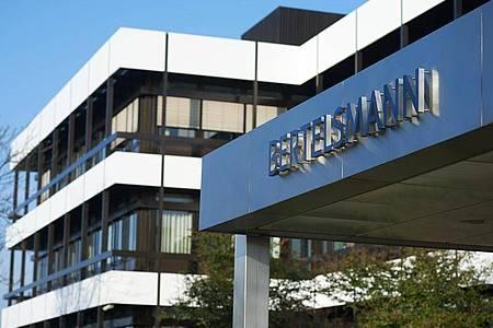 Die Verwaltungsgebäude von Bertelsmann in Gütersloh. Foto: Bernd Thissen/dpa