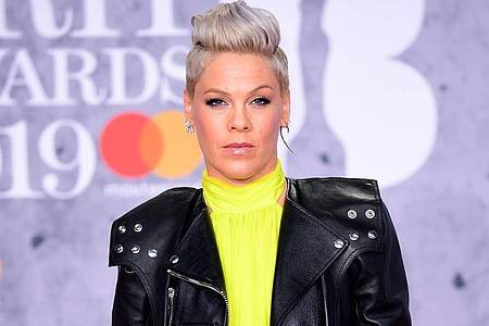 Sänegrin Pink bei den Brit Awards 2019. Foto: Ian West/PA Wire/dpa