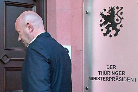 Thüringens Kurzzeit-Ministerpräsident Thomas Kemmerich (FDP). Die für den 25. April anvisierte Neuwahl des Thüringer Landtages steht wegen der Corona-Pandemie auf der Kippe. Foto: Martin Schutt/dpa-Zentralbild/dpa