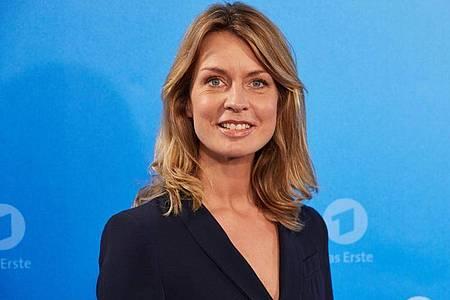 Jessy Wellmer moderiert seit 2014 die Sendung. Foto: Georg Wendt/dpa