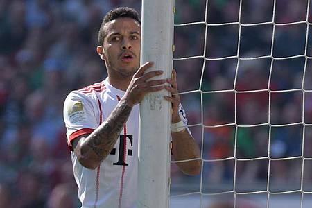 Soll auch beim FC Bayern verlängert haben: Leistungsträger Thiago. Foto: Peter Steffen/dpa