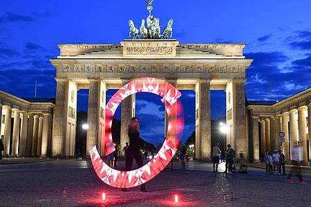 Das Brandenburger Tor in Berlin. Foto: Jens Kalaene/dpa-Zentralbild/dpa