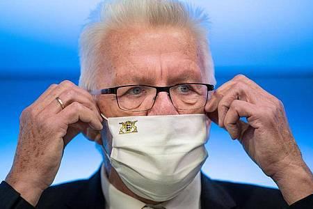 Baden-Württembergs Ministerpräsident Winfried Kretschmann. Foto: Marijan Murat/dpa
