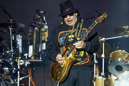 Carlos Santana tritt beim BottleRock Napa Valley Music Festival auf. Foto: Amy Harris/Invision/AP/dpa