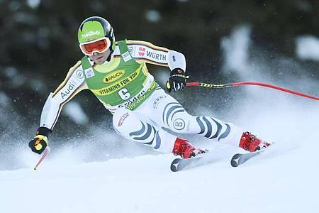 Fuhr in Gröden in die Top-5: Andreas Sander. Foto: Marco Trovati/AP/dpa