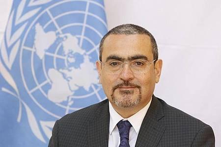 Der stellvertretende UN-Sonderbeauftragte für Afghanistan, Ramiz Alakbarov. Nach der Machtübernahme der Taliban warnen die Vereinten Nationen vor verheerenden Folgen der eskalierenden wirtschaftlichen Krise. Foto: Fardin Waezi/UN/dpa