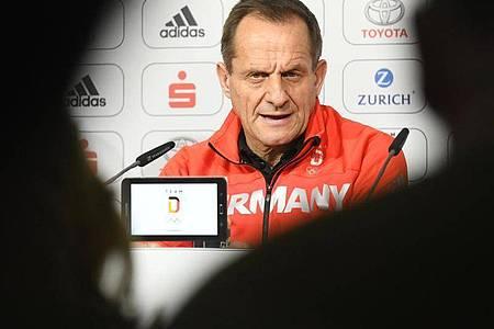 Alfons Hörmann ist der Präsident des Deutschen Olympischen Sportbundes (DOSB). Foto: Tobias Hase/dpa