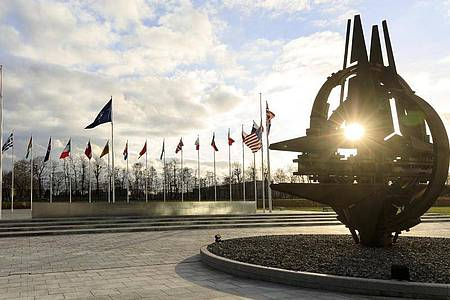 Das Hauptquartier der Nato in Brüssel. Foto: Thierry Monasse/dpa