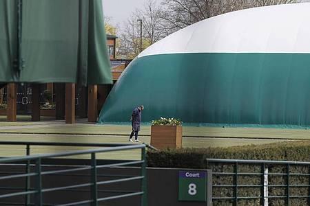 Auch der Tennis-Klassiker in Wimbledon wurde abgesagt. Foto: Kirsty Wigglesworth/AP/dpa