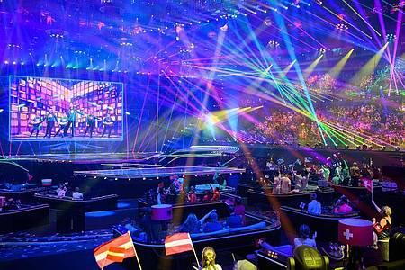 Auch beim Eurovision Song Contest in Rotterdam untersuchten die Forscher das Infektionsrisiko. Foto: Soeren Stache/dpa-Zentralbild/dpa