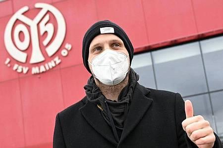 Der neue Chefcoach des FSV Mainz 05, Bo Svensson, hat eine reizvolle Aufgabe bei seinem Debüt. Foto: Arne Dedert/dpa