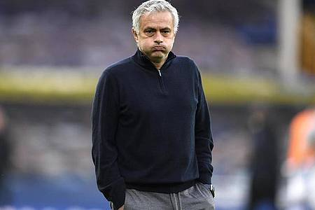 Soll nicht mehr Trainer von Tottenham Hotspur sein: José Mourinho. Foto: Peter Powell/PA Wire/dpa