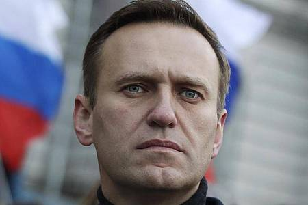 Alexej Nawalny, Oppositionsführer aus Russland. Foto: Pavel Golovkin/AP/dpa