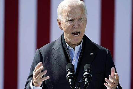 Bei den Vorwürfen, die keinerlei Grundlage hätten, handele es sich um «Müll», sagte Biden. Foto: Carolyn Kaster/AP/dpa