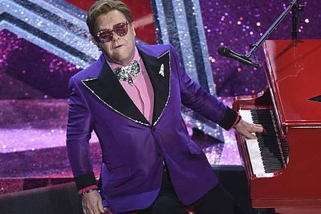 Elton John - seit Jahrzehnten erfolgreich. Foto: Chris Pizzello/Invision/AP/dpa