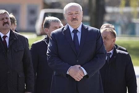 Der Machthaber von Belarus, Alexander Lukaschenko. Foto: Sergei Sheleg/POOL BelTa/AP/dpa