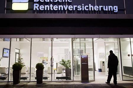 Eine Beratungsstelle der Deutschen Rentenversicherung. Foto: Julian Stratenschulte/dpa