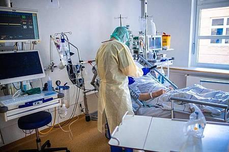 Die Zahl der Todesfälle und der Neuinfektionen mit dem Coronavirus bleibt auf hohem Niveau. Foto: Jens Büttner/dpa-Zentralbild/dpa