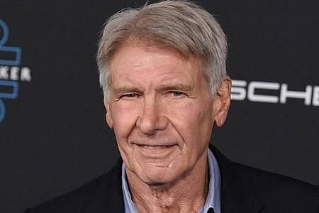 Harrison Ford war für Dreharbeiten auf Sizilien. Foto: Jordan Strauss/Invision/AP/dpa