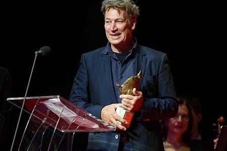 Schauspieler Tobias Moretti wurde mit einem Europäischen Kulturpreis ausgezeichnet. Foto: Henning Kaiser/dpa