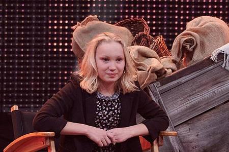 Helena Zengel hat Chancen auf einen Golden Globe. Foto: Henning Kaiser/dpa