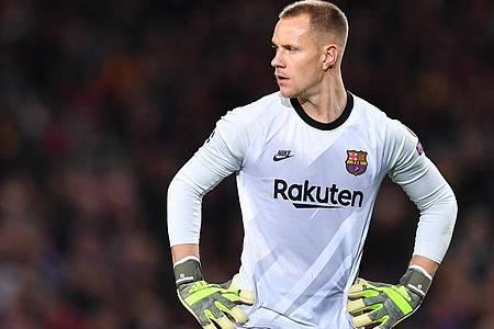 Barcelonas Torwart Marc-André ter Stegen wird bei der EM nicht für Deutschland spielen können. Foto: Marius Becker/dpa