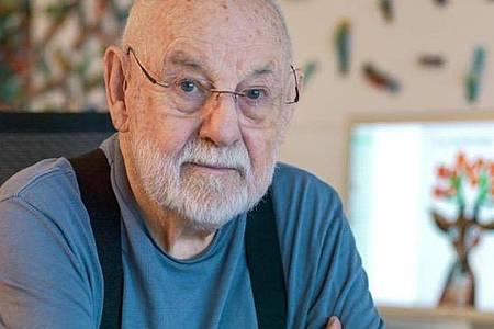 Eric Carle, hier 2017, ist im Alter von 91 Jahren gestorben. Foto: Jim Gipe/Eric Carle Studio/dpa