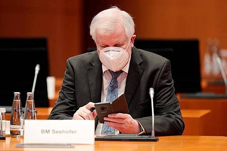 Bundesinnenminister Horst Seehofer. Foto: Hannibal Hanschke/Reuters/Pool/dpa