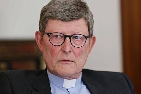 Kardinal Rainer Maria Woelki. Der umstrittene Erzbischof von Köln ist mal wieder in den Schlagzeilen. Foto: Oliver Berg/dpa