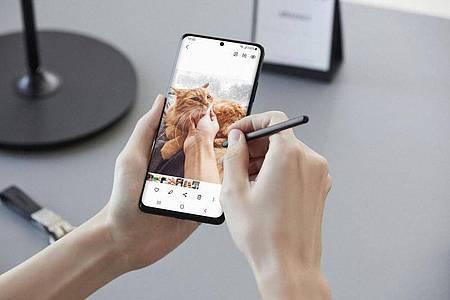 Samsung will mit der neuen S21-Reihe seinen Vorsprung im Android-Smartphone-Markt weiter ausbauen. Foto: Samsung/dpa