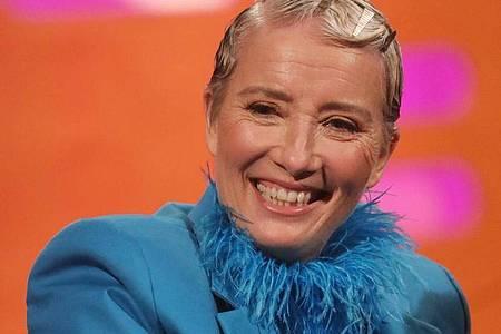 Eine neue Rolle für die britische Schauspielerin Emma Thompson. Foto: Isabel Infantes/PA Wire/dpa