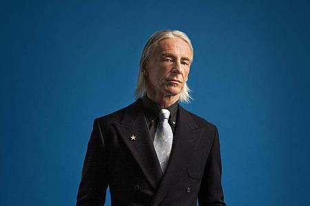 Als «Godfather of Britpop» verehrt: Paul Weller. Foto: Sandra Vijandi/Universal/dpa