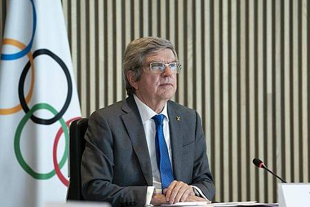 Thomas Bach, Präsident des Internationalen Olympischen Komitees (IOC). Foto: Greg Martin/IOC/dpa