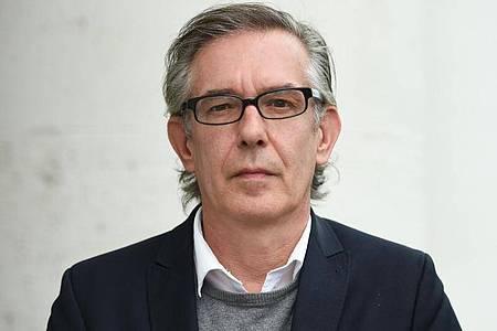 Der Autor Ulrich Peltzer 2015 in Frankfurt am Main. Foto: picture alliance / dpa