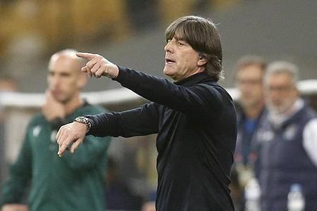 Kann gegen die Schweiz auf Timo Werner bauen: Bundestrainer Joachim Löw. Foto: Efrem Lukatsky/AP/dpa
