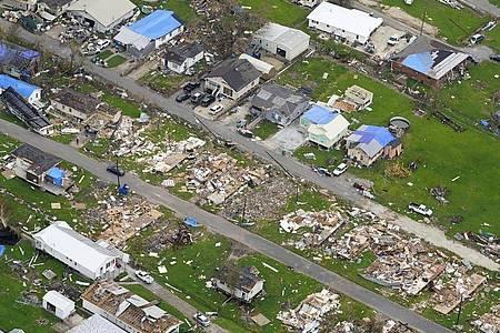 Die Aufräumarbeiten nach dem verheerenden Hurrikan «Ida» gehen in mehreren US-Bundesstaaten weiter. Foto: Matt Slocum/AP/dpa
