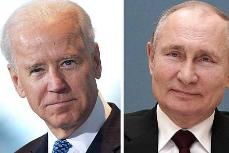In Genf findet das erste Treffen der Präsidenten der USA und Russlands seit Bidens Amtsantritt statt. Foto: Alexei Druzhinin/dpa