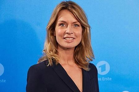 Jessy Wellmer hat beim «ZDF-Morgenmagazin» Sicherheit und Selbstbewusstsein gelernt. Foto: Georg Wendt/dpa