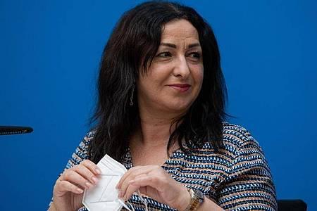 Dilek Kalayci (SPD), Senatorin für Gesundheit in Berlin. Foto: Christophe Gateau/dpa