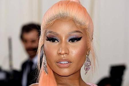 Rapperin Nicki Minaj erntet für ihren Impf-Tweet viel Kritik. Foto: Jennifer Graylock/PA Wire/dpa