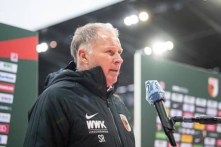 Stefan Reuter, Manager des FC Augsburg. Foto: Matthias Balk/dpa
