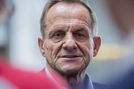 DOSB-Präsident Alfons Hörmann:Vereine brauchen Unterstützung. Foto: Christoph Soeder/dpa