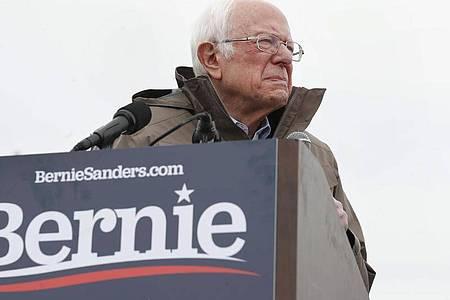 Bernie Sanders zieht sich aus dem Rennen um die demokratische Präsidentschaftskandidatur zurück. Foto: George Frey/FR10102 AP/dpa