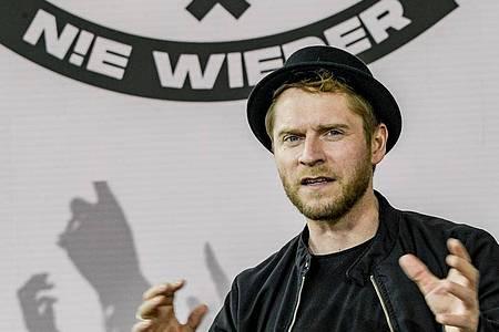 Johannes Oerding wirbt um Unterstüzung und Hilfe für die Event- und Veranstaltungswirtschaft. Foto: Axel Heimken/dpa
