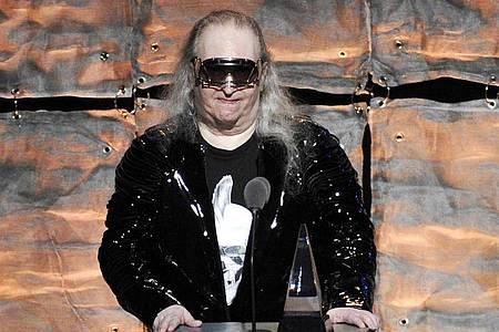 "Jim Steinman 2012 bei der Gala ""Songwriters Hall of Fame"". Foto: Evan Agostini/Invision/AP/dpa"